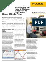 Solución de problemas en redes eléctricas trifásicas con los analizadores de calidad elétrica de la serie 435 Fluke.pdf