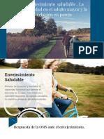 Envejecimiento  saludable , La sexualidad en el adulto mayor y la relación en pareja.pptx