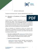 OC 023-2019-VOP TRANSFERÊNCIA SEM FINANCEIRO