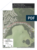 Maps of the San Marco Road and North Collier Boulevard sidewalk projects - City of Marco Island