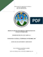 Informe de Practica de Campo 2. Terminado y Corregido.