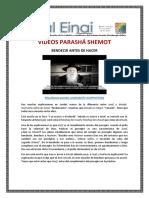 13 VIDEOS SHEMOT
