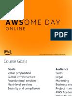AWS PowerPoint Presentation