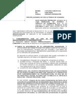 ABS. CONTRADICION  SIN CAUSALES - ODSD