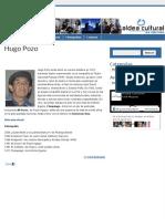 Hugo Pozo  Aldea Cultural