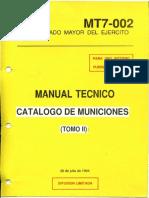 Manual Técnico - Catálogo de municiones Tomo II.pdf