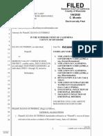 Holguin Lawsuit