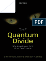 The Quantum Divide. Why Schrodingers Cat is either Dead or Alive - C C Gerry, K M Bruno.pdf