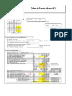 Cálculo de Viga Puente (tensiones y deformaciones)