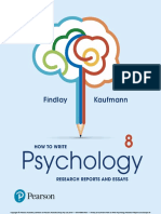 How to Write Psychology Researc - Findlay, Bruce;.pdf