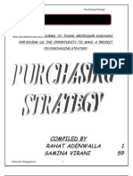 Purchasing Strategy Final[1]