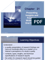 Business research methods_chapter21
