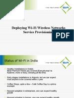 Deploying Wi-Fi Wireless Networks