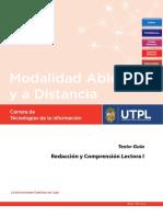 Texto-guía Redacción y Comprensión Lectora I 2018 Galo Guerrero-Jiménez con ISBN.pdf