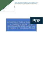 20171030 Informe sobre víctimas mortales de la violencia de género 2015