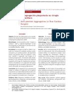 Anti-agregacion plaquetaria