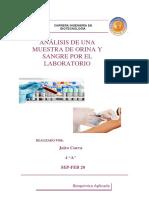Dosier Bioquímica clínica