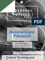2-General Physics 1-Uncertainties in Measurement