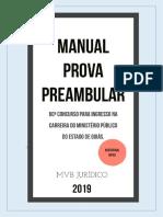 Manual Prova Preambular MPGO 2019