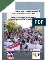 INFORME PARA EPU GUATEMALA 2017 -DERECHOS DE LA JUVENTUD- COMPLETA (2)