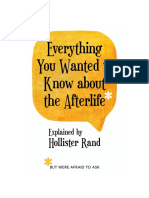 Everything You Wanted to Know about the Afterlife but Were Afraid to Ask Excerpt