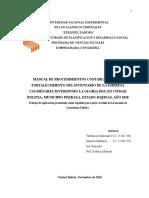 manual de procedimientos administartivo