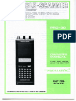 RS PRO-30 (Owner's Manual)