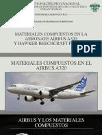 Materiales Compuestos en el A320 y Beechcraft