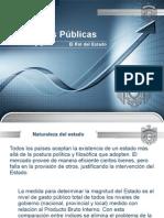 Finanzas Publicas - El Rol Del Estado