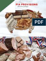 2019 Olympia Provisions Catalog