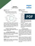 Ficha Técnica Argentina