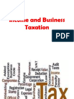 Income and Business Taxation