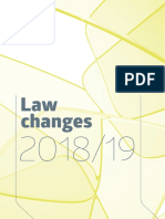 laws changes