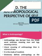 ANTHROPOLOGICAL  SELF, 2018