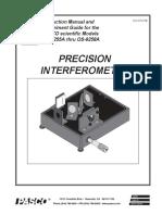 2a- Precision-Interferometer-Experiment 1