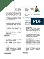 TALLER DE LECTURA, INFORME TÉCNICO.......PNP