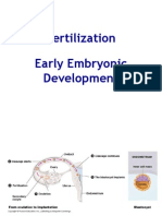 Zoology 7 - Fertilization, Early Devt