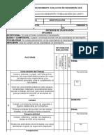F4-FR-HSE-003 FORMATO EVALUACION DE PERSONAL TEMPORAL