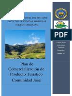 PLAN DE COMERCIALIZACION JOSE COTACACHI