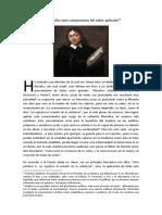 La filosofía como compromiso del saber aplicado