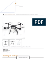 ARRIS E405 4 Axis 5L UAV Agriculture Spraying Drone Frame Kit_CB0034_Agriculture Spraying Drones.PDF