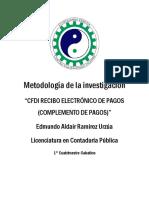 Ensayo CFDI 3.3