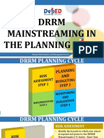 Presentation_DRRM Mainstreaming in the Planning Cycle