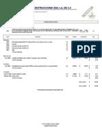 Ejemplo de Analisis de Precio Unitario