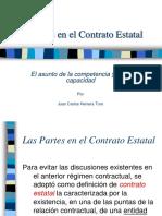 Las partes en el Contrato Estatal