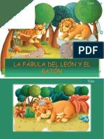 FABULA DEL LEON Y EL RATON