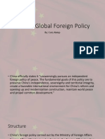 China's Global Foreign Policy November.pptx