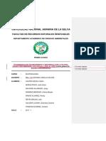 CRECIMIENTO Y DESARROLLO DE LA PLAnTA CANNA GLAUCA EN LOS SUELOS Y AGUAS CONTAMINADAS