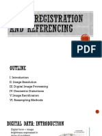 Image Registration and Georeferrencing