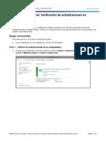 Practica de laboratorio 20 - Verificación de actualizaciones en Windows 8.pdf